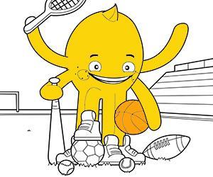 Dibuixos per pintar de Esports i Aventura